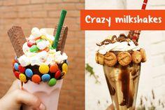 Como hacer Crazy milkshakes