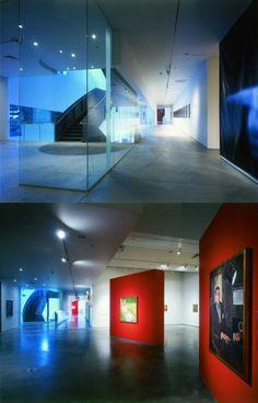 Nevada Museum of Art, Reno, Nevada design Interior 2