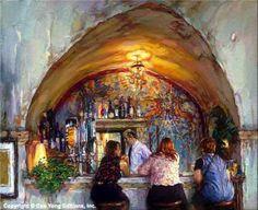 Bar-Colombe d'Or... St. Paul de Vence, France