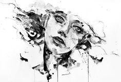 Artist Agnes-Cecile, from her facebook album