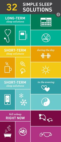 32 Solutions for When You Can't Sleep #health #wellness #sleep #rest