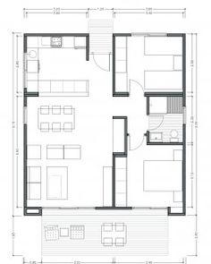 Modelo OPTIMA 75 m2