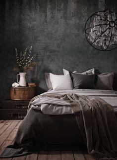 sleeping in the fog Room Ideas Bedroom, Home Decor Bedroom, Bedroom Wall, Black Bedroom Design, Interior Design Living Room, Bedroom Designs, Luxurious Bedrooms, New Room, Home Decor Inspiration