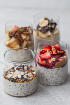 This Easy Overnight Oats Recipe Is A Healthy Simple Breakfast That You Can Make Ahead For Busy Mornings And Customize With Many Add-Ins And Toppings Overnight Oats Oatmeal Breakfast Ideas Healthy Breakfast On-The-Go Breakfast On The Go, Healthy Breakfast Recipes, Healthy Recipes, Breakfast Ideas, Breakfast Smoothies, Healthy Breakfasts, Nutritious Meals, Yummy Recipes, Best Overnight Oats Recipe