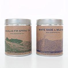 Wild Harvested Tea by Juniper Ridge. #poketo