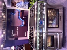 Thermador brings the first high performance steam and convection oven. Seven cooking options. 22,000 BTUs. While it's new, it's also most desirable.