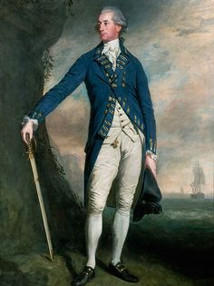 Portrait of Captain George Montagu (1750–1829), circa 1780-1790, Attributed to Thomas Beach (1738-1806) or Lemuel Francis Abbott (c.1760–1802)