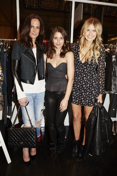 Elle Ferguson, Sarah Donaldson and Tash Sefton at Evening With Our Designers 2013 at Strand Arcade, featuring the launch of the 1891 publication, the We Are The Makers series, and our SS13 campaign. #fashion #event #EWOD #strandarcade