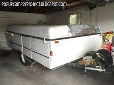 Pop Up Camper Remodel Repairing A Coleman Abs Roof Lake