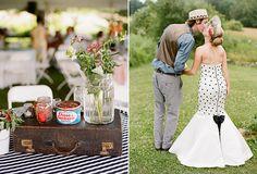 Lisa & Benjamin | Backyard Rockabilly Wedding in Maine | Snippet & Ink Snippet & Ink