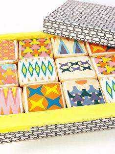 Patterned Cookies... Biscuits à motifs géométriques - Modern Bite.