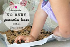 Thermomix no bake granola bars 1