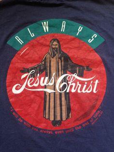 Vintage 1980's Jesus Christ/Coca Cola por Gunsandsmokevintage