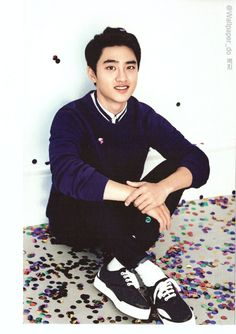 D.O  //  2016 EXO.. Rare but he has a handsome smile.