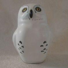 POD of Edgecomb Maine Pottery Snow Owl Figure Figurine (08/06/2011)