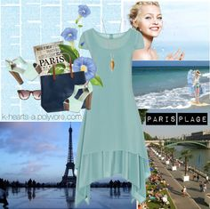 "What Would Summer in Paris Be Without Its Beach?: Inaugurated in Paris Beach (or ""Paris Plages"" in French) is a free summer event that transform. Paris Summer, Free Summer, Summer Events, Hearts, Polyvore, Collection, Design, Women"
