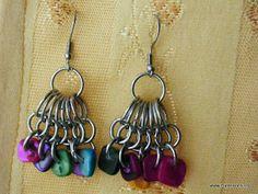 Free Peacock Chain Earrings Jewelry Making Tutorial