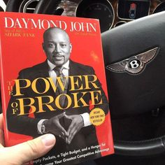 "WisdomWednesday's The Power of Broke by Daymond John  Read this ifyou need some inspiration on how Daymond grew his brand FUBU from $40 into a $6B brand! Having to pinch pennies to grow your brand breeds creativity and innovation. This book taught me you truly don't need money to make money!  My 3 favorite book quotes:  ""Sometimes you have to learn how to fail before you can begin to succeed.""  ""Life is like business 20% of what happens to you is 80% of how you react""  ""Told myself it didnt…"