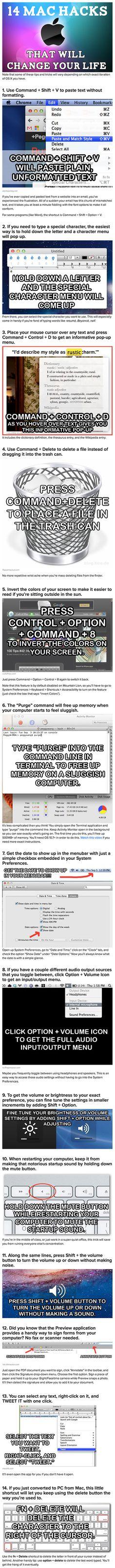 Een aantal mac trucs
