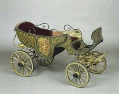 Both photo series of Bernard DeCou made in Tsarskoe Selo and in Peterhof feature a charming baby carriage. Vintage Pram, Vintage Toys, Victorian Toys, Baby Buggy, Baby Carriage, Baby Furniture, Antique Furniture, Prams, Antique Toys
