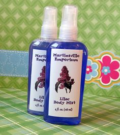 Lilac Body Mist  Matches our Top Selling by MartinsvilleEmporium