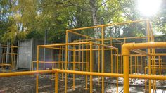 Portable Parkour Structure