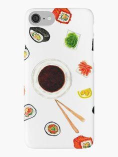 Sushi watercolor by AnnArtshock
