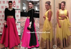 neha dhupia in payal singhal at sacc houston