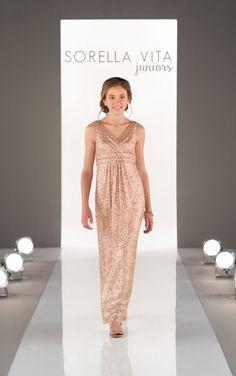 Juniors Sequin Dress - Sorella Vita