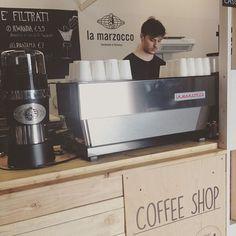 """""""Your caffeine fix with @lamarzocco @mercatometropolitano @tagliomilano ☕️Caffè…"""