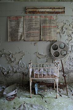 Pripyat Hospital - children's wing