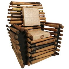 1stdibs - Baseball Bat Chair explore items from 1,700 global dealers at 1stdibs.com Douglas Wyant Orginial