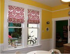 Римские шторы своими руками   Сделаем окно красивым - Все про дизайн окна