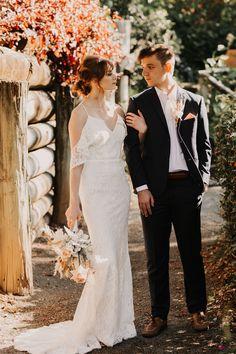 Photographer @twowildhearts_photo Flowers @rainforestgardensflorist Model @lucinda.kittel #aussiebride #wedding #dress #australia #melbourne #sydney #flowers #florist #inspo #planning #photoshoot #bohemian Cold Shoulder Wedding Dress, Melbourne, Sydney, Bridal Gowns, Wedding Dresses, Dream Dress, Dress Making, Oc, Stylists