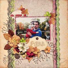 The Colors of Fall *DT The ScrapCake* - Scrapbook.com