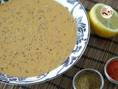 Hummus libanese senza tahina