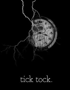 Tick-tock, this is a clock.