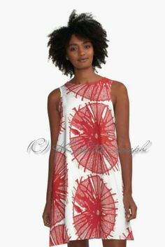 Red Mandala A-line Dress http://www.redbubble.com/people/karlettejoseph/works/22770090-red?asc=u&p=a-line-dress&rel=carousel #alinedress #dress #red #mandala #casualwear #art