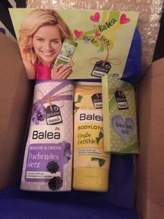 Produkttests mit Gewinnbiene: 20 Jahre Balea - Überraschungspaket von DM