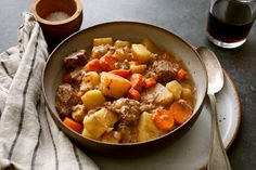 Old-Fashioned Beef Stew from NYT Cooking.
