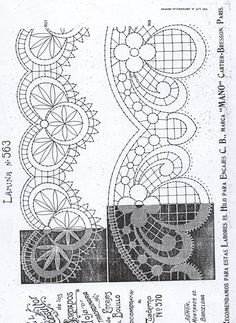 renda de bilros / bobbin lace patterns Bobbin Lace Patterns, Bead Loom Patterns, Embroidery Patterns, Knitting Patterns, Hairpin Lace Crochet, Crochet Motif, Bobbin Lacemaking, Lace Art, Lace Painting