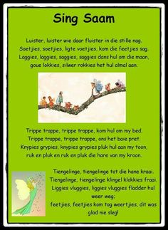 Luister, luister Preschool Classroom, Preschool Activities, Afrikaans Language, Afrikaans Quotes, Kids Poems, Pre School, Music Songs, Good To Know, Kids Learning