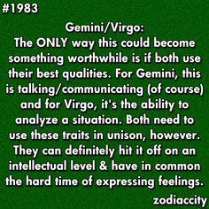 gemini and virgo dating