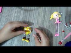 Chaveiros Magrelinhas em Biscuit!!! 😍😍😍😍 - YouTube