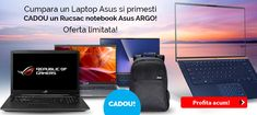 Cumpara un Laptop Asus si primesti CADOU un Rucsac notebook Asus Argo! Oferta limitata! Cumpara acum! Gamers, Argo, Laptops, Laptop, Argos, The Notebook, Notebooks