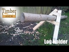 Log Holder for Hand Sawing: 5 Steps (with Pictures)