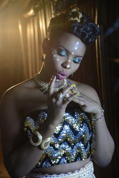 Yemi Alade: beautiful make up, beautiful woman
