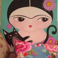 Frida, painting