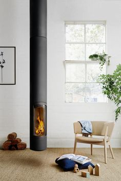 SlimFocus. Another masterpiece of fireplace design by Focus.