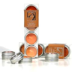 Ashleigh & Burwood Travel Candles in Tin £3.98  http://www.incensearomatherapy.co.uk/collections/candles/products/travel-candles-in-tin